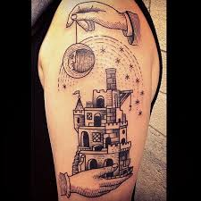 black moon and castle tattoomagz