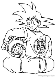 ball z color pages