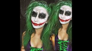 Female Joker Halloween by Joker Version Youtube