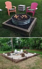 The  Best Backyard Fire Pits Ideas On Pinterest Fire Pits - Backyard firepit designs