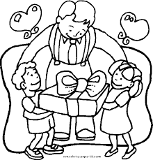 father u0027s color coloring pages kids holiday