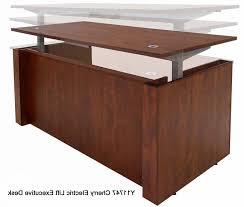 L Shaped Adjustable Height Desk Desk Rolling Computer Adjustable Height With Regard To Elegant
