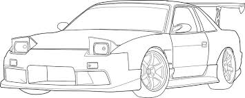 coloring pages drifting cars fast and furious coloring pages getcoloringpages
