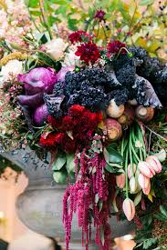 wedding flowers birmingham kale pomegranate and turnip wedding flowers elizabeth