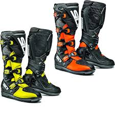 motocross boots sidi stinger yellow fluoblack maciag offroad kids sidi motocross boots