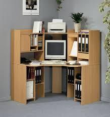 White Corner Computer Desk by Furniture Charming Minimalist Wooden Corner Computer Desk