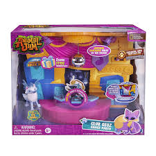 amazon com animal jam club geoz playset with exclusive diamond