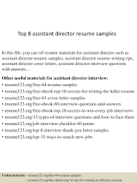 Retail Assistant Manager Resume Sample by Assistant Director Resume Format Youtuf Com