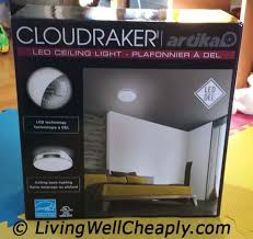 Costco Led Light Fixture Artika Cloudraker Led Ceiling Light From Costco Product Review