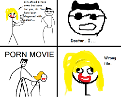 Porno Meme - itt dumb porn setups