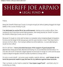Are They Tough Enough Joe - joe arpaio s bither prober in court while joe whines for cash