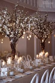Winter Wedding Decorations Fascinating Winter Wedding Centerpieces With Branches 1000 Ideas