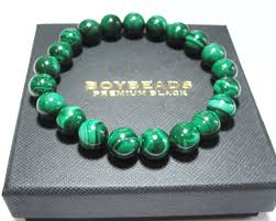 natural beads bracelet images Richie by boybeads 10mm premium natural green malachite bead jpg