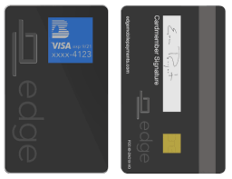 electronic cards edge card