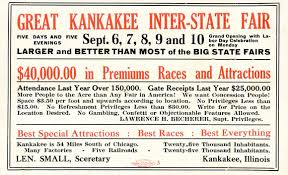 the history of the kankakee county fair local news daily