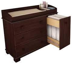 Changing Table Dresser Cherry Cherry Wood Changing Table Table Design How To Convert Changing