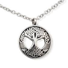 urn pendants cremation urn necklace for ashes sacred tree