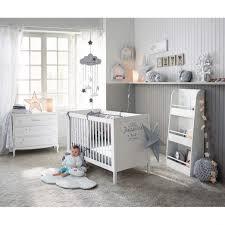 kreabel chambre bébé chambre bebe en blanc et gris pokoje chambres coucher pas cher pour