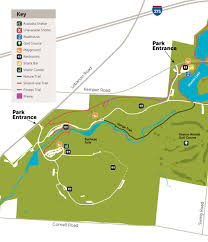 Buckeye Trail Map Great Parks Maps