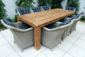 Teak Patio Dining Table Best Of Rectangle Patio Table For Rectangular Outdoor Tables Image