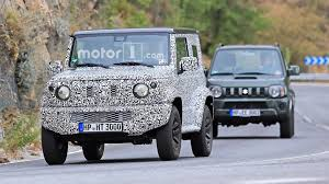 suzuki jimny next gen suzuki jimny spied testing with current model