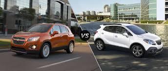 buick encore 2016 chevy trax vs 2016 buick encore