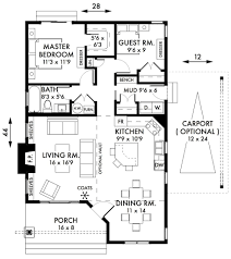 Carport Designs Plans Small 2 Bedroom Houses Plans Dhsw077166 Creative 2 Bedroom