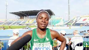 nigerian woman runs world fastest 2017 time in 100m hurdles