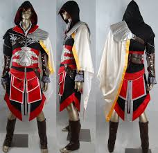 Ezio Halloween Costume Oasis Costume Assassin U0027s Creed Ezio Cosplay Costume Wetlands Ebony