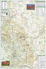 National Map Capitol Reef National Park National Geographic Trails Illustrated