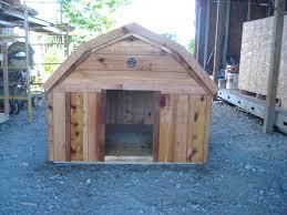 dog barn new custom barn style cedar dog house custom ac heated insulated