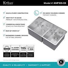 scratch resistant stainless steel sink stainless steel kitchen sinks kraususa com