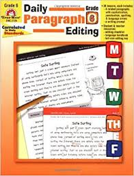 daily edit worksheets daily edit on paragraph anchor charts and