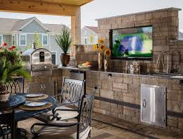 prefab outdoor kitchen grill islands built in grill design ideas u0026 inspiration from belgard