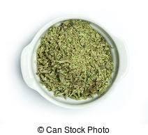 origan en cuisine coupé marjolaine feuilles rustique monture origan photo de