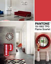 Mood Board The Best Of Pantone Fall Colors With Flame Scarlet