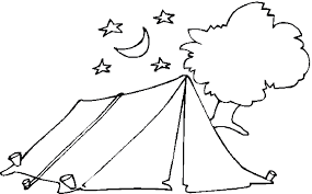 summer camp coloring pages coloring pages