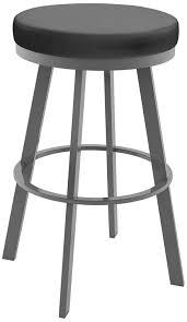 black backless swivel counter stool hillsdale bordeaux 30inch