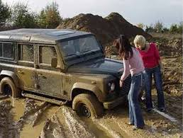 muddy jeep girls russian highway from hell