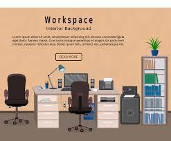 bureau concept espace de travail d intérieur de bureau concept d organisation de