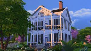 Neoclassical Style Homes Three Styles Of Historical Architecture In The Sims 4 Sims 4