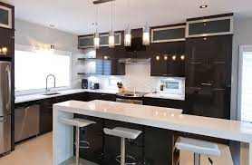 comptoir cuisine montreal chambre enfant cuisine moderne cuisine moderne en melamine au