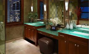 bathroom design bathroom vanity glass countertop design ideas