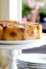 pineapple upside down cake in iron skillet recipe pineapple