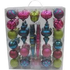 time white silver shatterproof ornaments