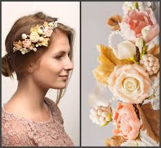 flower bands bridal flower crown floral hair wreath bridal bands rustic