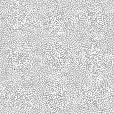 vector seamless pattern of silver grey foliage on light background