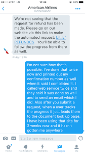 american airlines screwing me over i have pictures to prove