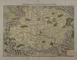 Bohemia Map Behemer Koenigreich Mit Bergen Und Waelden Geringsumb Münster