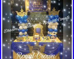 Royal Prince Decorations Large Crowns Royal Crowns Glitter Crowns Backdrop Crowns